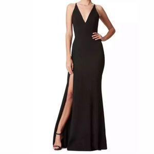 Dress the population black dress
